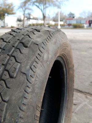 dangers of driving on worn tires