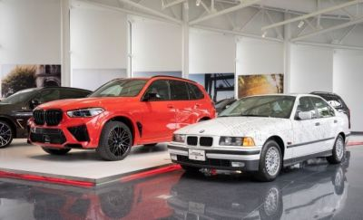 first BMW vehicle built in USA alonsize five millionth