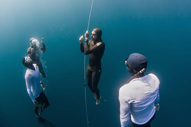 Big Blue Freediving competition, La Paz Mexico - Big Blue Competition Day 1