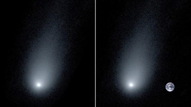 Κομήτης Μπορίσοφ - Διάστημα