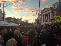 Image of Sunrise Anzac Day Ceremony, Balmain, Anzac Day 2015 - ecperkins.com.au