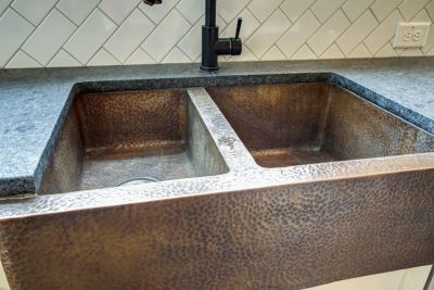 7 copper sink