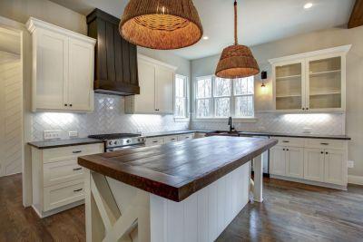 5 kitchen wood top