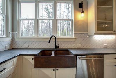 6 kitchen copper sink
