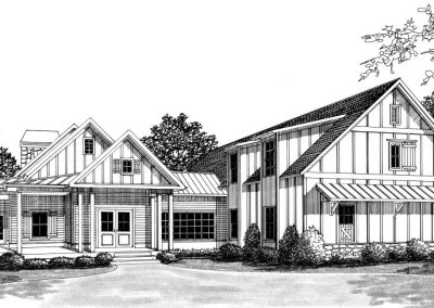 1313 AJ Land Rd – Courtyard Plan