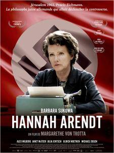 affiche Hannah Arendt