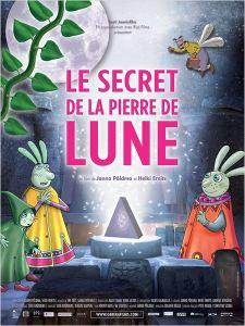 AFFICHE LE SECRET DE LA PIERRE DE LUNE