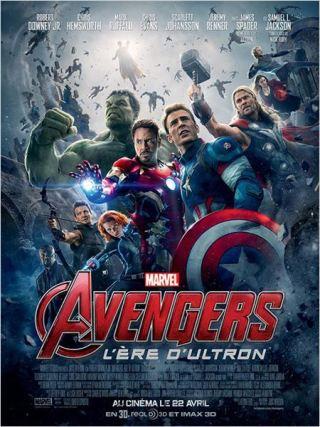 affiche Avengers l'ere d'ultron