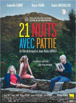 affiche 21 nuits avec Pattie