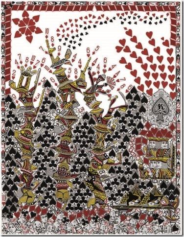 Dans la Forêt des Châteaux de cartes
