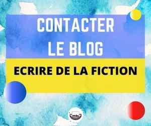 contacter le blog Ecrire de la Fiction