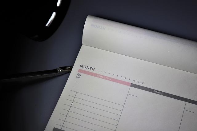 Gérer son temps, c'est d'abord planifier