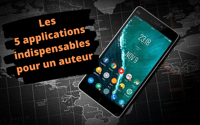 5 applications indispensables pour auteur