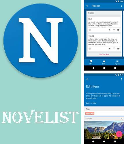 NOVELIST: application pour auteur par excellence