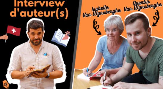 Interview d'auteurs : Isabelle Van Wynsberghe Quentin Van Wynsberghe