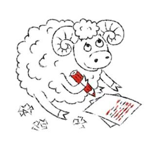 Horoscope du métier d'écrivain : bélier