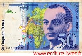 Jeu des différences - Billet de 50 francs Saint-Exupéry
