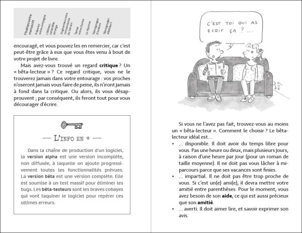 """Exemple int """"Comment chercher un éditeur…"""" 1 Comment trouver un éditeur pour son livre ? Cet ouvrage 100 % utile, écrit simplement, bourré de pistes et d'astuces, vous propose une méthode efficace pour le rechercher, pour l'approcher et pour l'intéresser."""