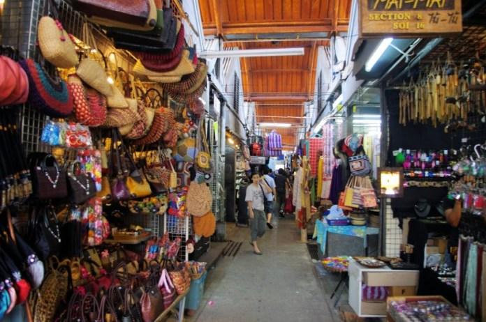tempat belanja murah di bangkok thailand - chatuchak