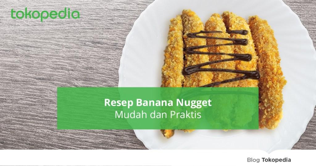 resep banana nugget