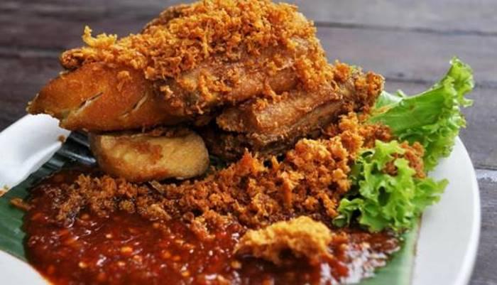 makanan pedas - ayam geprek