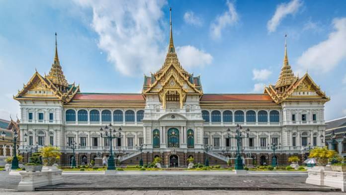 tempat wista di Bangkok terbaik - Royal Grand Pallace