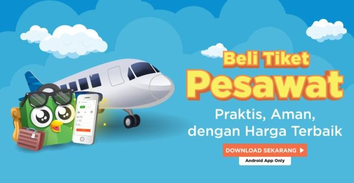 Tiket Pesawat Tokopedia