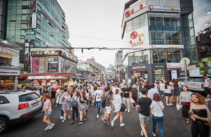 Tempat wisata di korea selatan - Hongdae