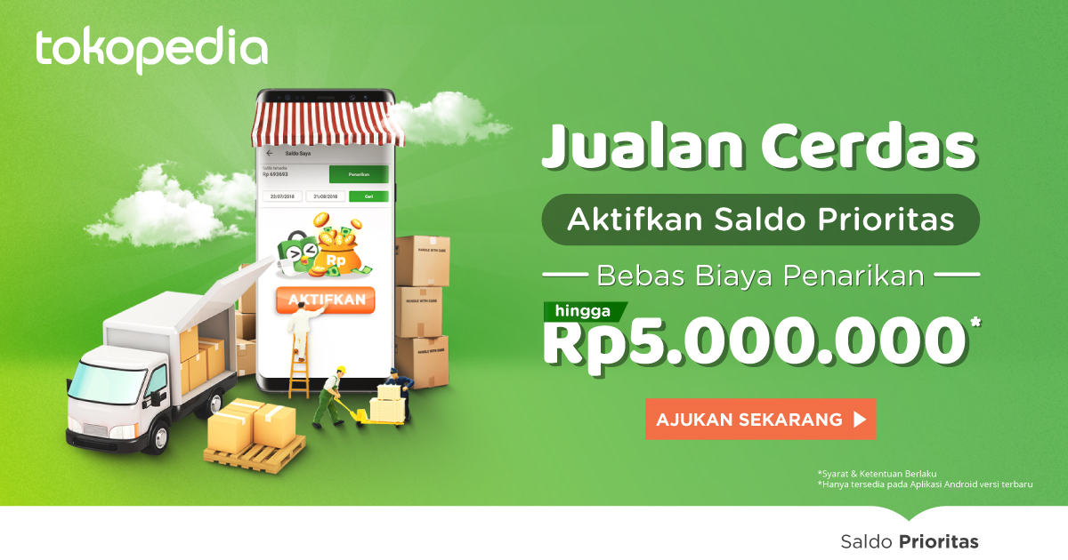 Saldo Prioritas Tokopedia