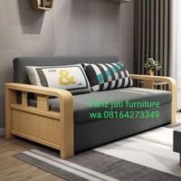 Jual Sofa Minimalis Take Wood Kab Jepara Fariz Jati Furniture Tokopedia
