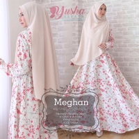 Meghan Gamis Syar'i Dress By Yusha, Zaifa