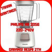 PRODUK ASLI!!! PHILIPS BLENDER HR 2056 GARANSI RESMI PHILIPS