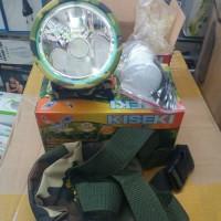 Senter Kepala 50Watt Kiseki CK 398 Headlamp Kiseki 398 Bonus bohlam