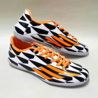 Sepatu Futsal Adidas F50 Adizero Putih Hitam