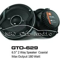 JBL speaker coaxial GTO-629 gto 629 gto629 coaxial speaker mobil