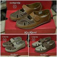 Sepatu Kickers Elizabeth for Woman Simple Flat Shoes Sepatu Sandal