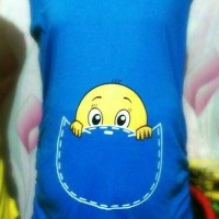 baju hamil lucu baby pocket new colour