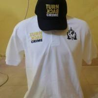 Kaos kerah/polo shirt Turn Back Crime