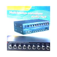 Murah !!! Mixing/Mixer Geer Ar 606 ( 6 Channel Mic)