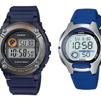 Jam Tangan Casio Digital Couple W216H lw200 Harga sepasang Original