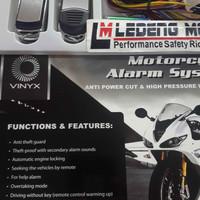 Alarm Motor Vinyx Remote Stater Jarak Jauh + Baterai Cadangan
