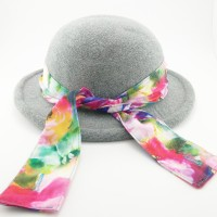 TOPI PANTAI GREY RIBBON