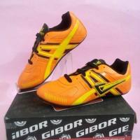 Sepatu Futsal / Gibor - KENNE FL-T (Junior) (Orange/Black/Yellow)