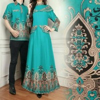 Baju Batik Couple/Couple Family/Pakaian Couple Muslim Caca Tosca