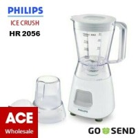 PHILIPS Blender Plastik 1 Lt HR 2056 Grey / Bonus Mill / Philip HR2056