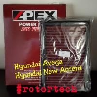 Filter Udara Racing APEX Hyundai Avega New Accent