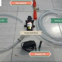 Alat Cuci Motor Mobil AC portable otomatis cut on off high pressure