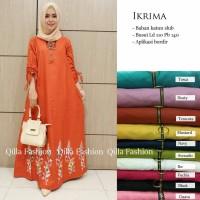 Maxi Long Dress Gamis Baju Muslim Wanita IKRIMA