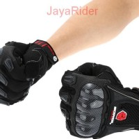 Sarung / Kaos Tangan Scoyco MC09 Black - Hand Gloves Bikers Motor