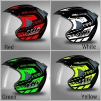 Helm Half Face Thi Veloce Protection Sni Dan Original